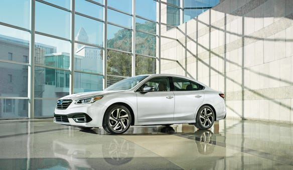 The 2020 Subaru Legacy was named as a Consumer Reports Top Pick.
