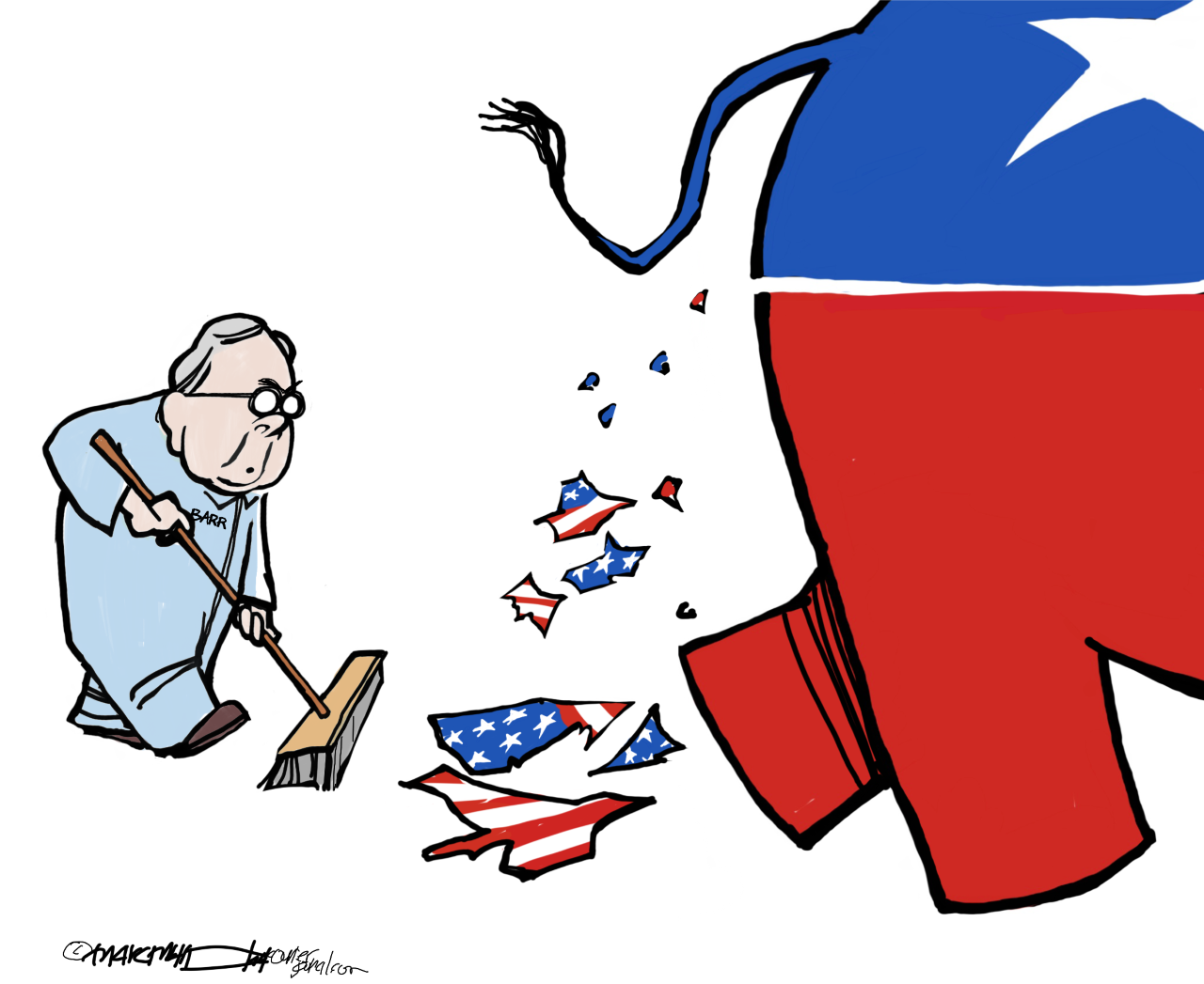 The /cartoonist's homepage, https://www.courier-journal.com