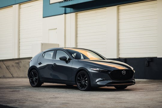 The 2020 Mazda 3 hatchback was named as an Insurance Institute for Highway Safety Top Safety Pick+ winner.