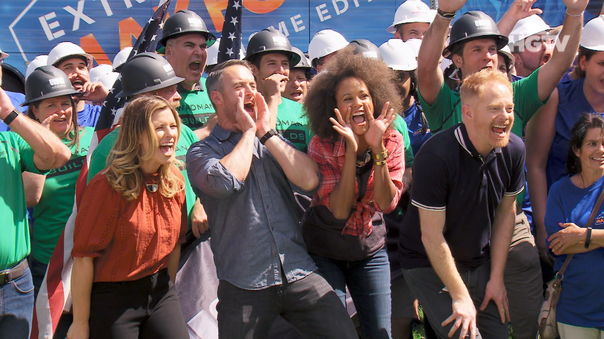 American Home Makeover 'extreme makeover home edition' is back with jesse tyler ferguson