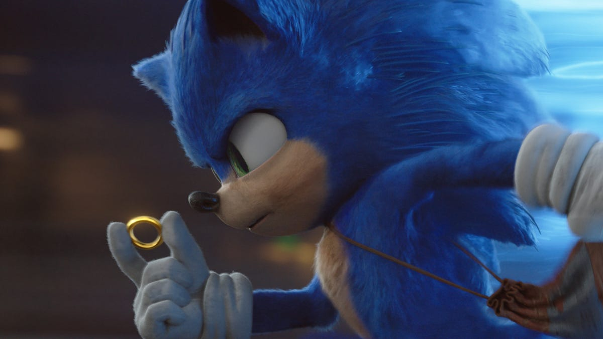 Sonic The Hedgehog Movie Redesign See His Before And After Look