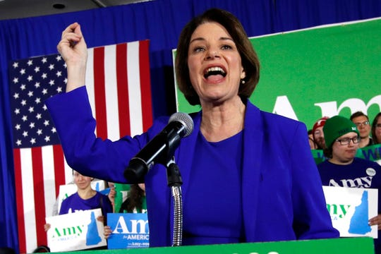 """What I do is get things done,"" Sen. Amy Klobuchar, D-Minn., says."