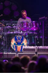 Mickey Hart, pictured with Dead and Company at the Wells Fargo Center in Philadelphia on Nov. 16, 2017