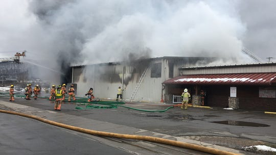 A fire broke out at Home Central Hardware Store, at 199 Stage Rd. in Vestal, Thursday afternoon.