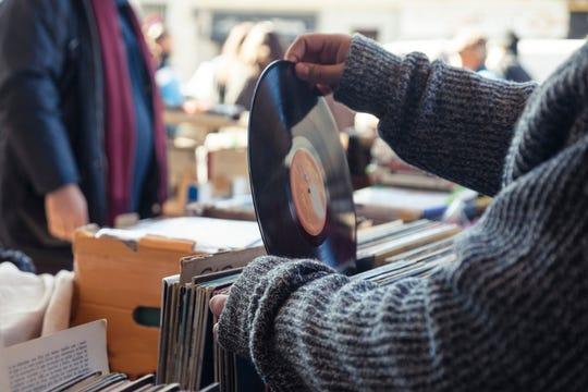 Vinyl records aren't just for antique stores anymore. New artists have started recording them, too.