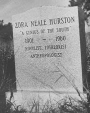 Despite what the tombstone says, Zora Neale Hurston was actually born in 1891. Confusion over her birth date is part of the controversy and ambiguity that surrounds so much of her life and career.