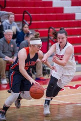 Galion's Teanna Greter shot 33% from deep this season.