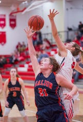 Galion's Natalee Perkins averaged a double-double this year.