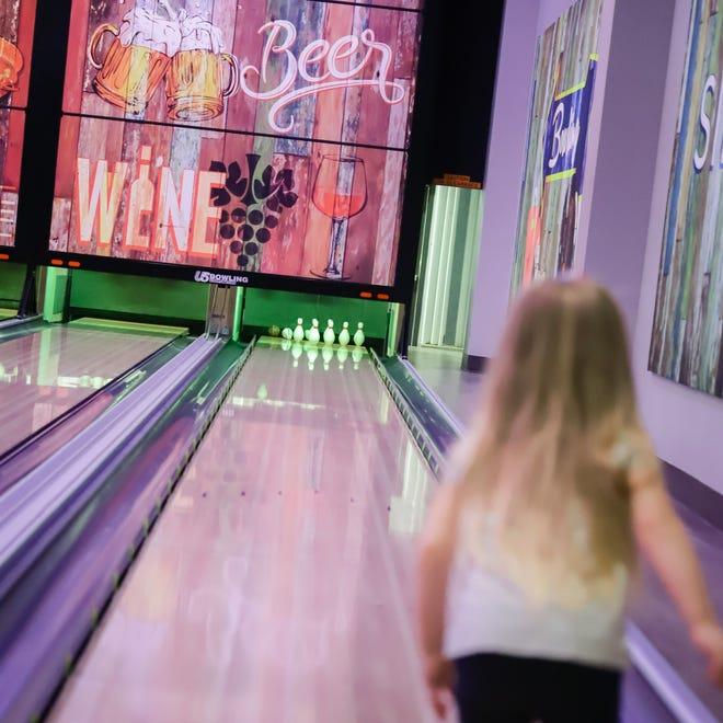 Duckpin bowling at Silverlake