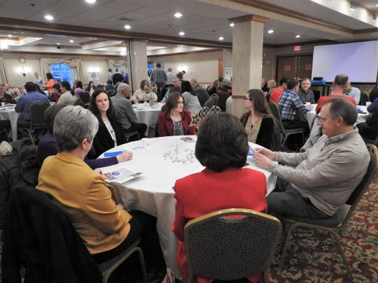 Local donors and members of various partner agencies attended the annual United Way of Coshocton County breakfast celebrating the last campaign season.