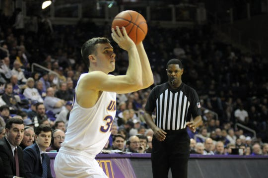 Northern Iowa's Spencer Haldeman finished with 8 points and 3 assists in a loss Thursday at Indiana State.