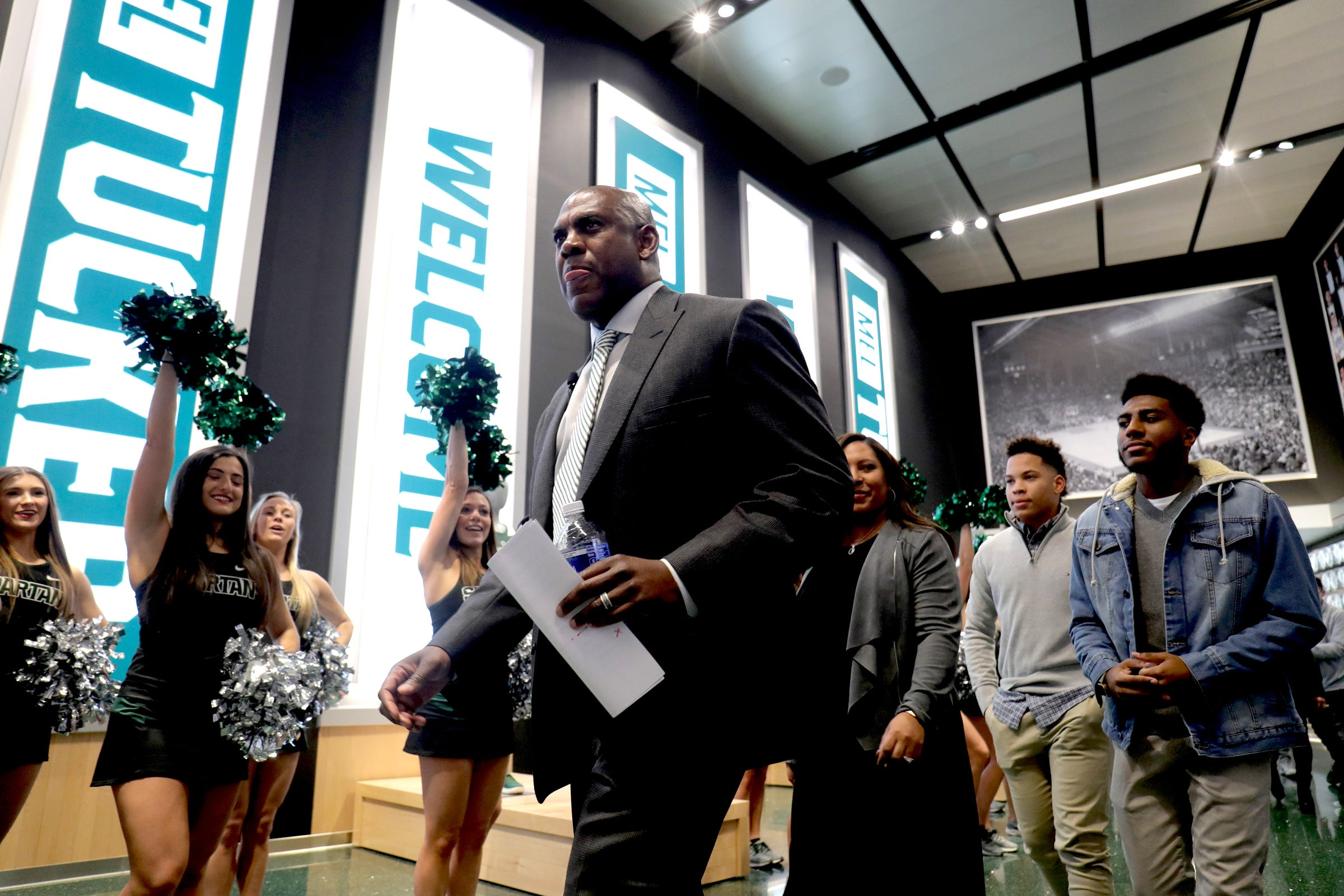 Michigan State Football Salaries What Mel Tucker Pays His Assistants