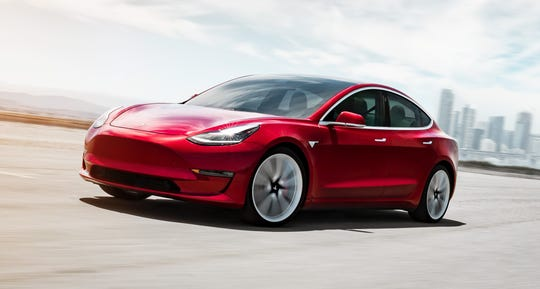 The Tesla Model 3 was named the top electric car for 2020 in the $45,000-$55,000 price range.