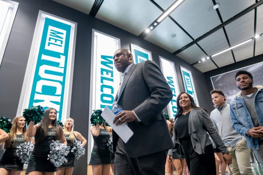 Mel Tucker will make $5.5 million per year as Michigan State's head football coach.
