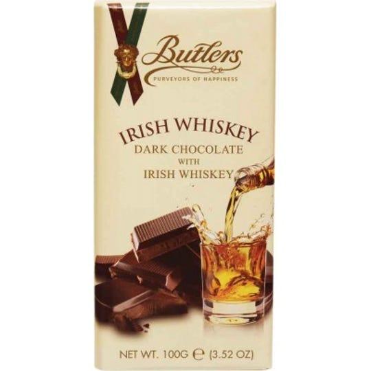 Grand Rapids-based Gourmet International on Thursday issued an allergy alert for Butlers Irish Whiskey Dark Chocolate 3.5-ounce tablet bars.