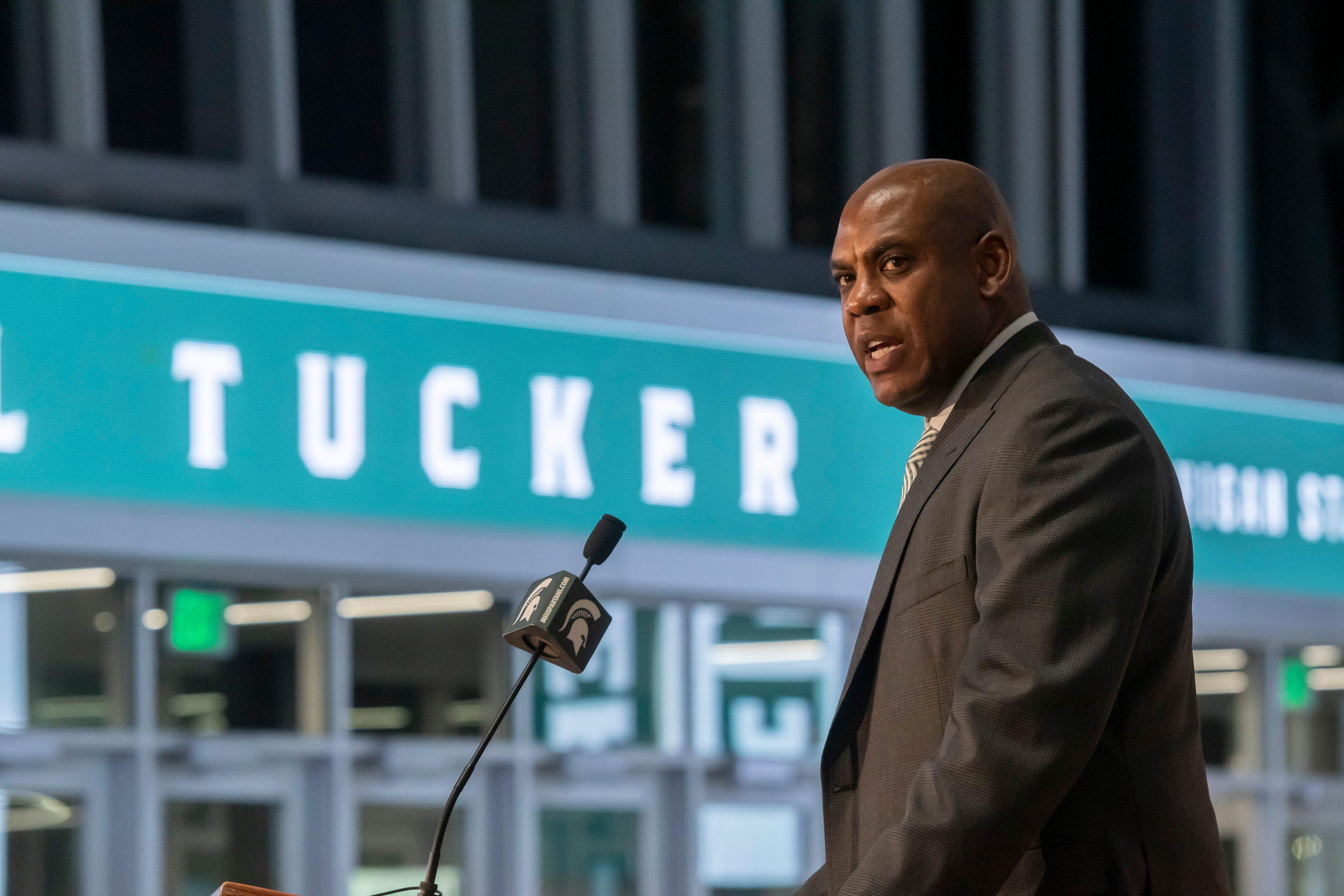 Tucker brings former Spartan Hawkins on board to...