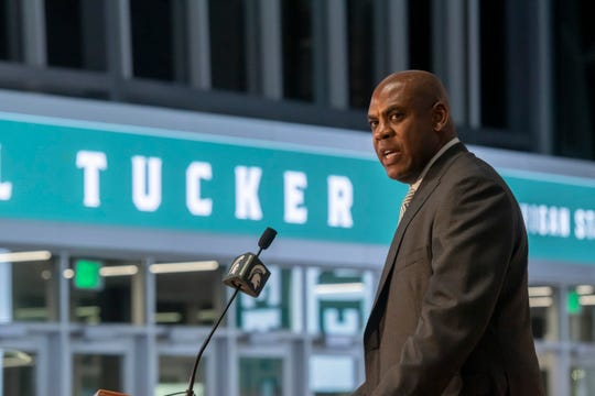 """MSU coach Mel Tucker was interviewed on  """"The Drive With Jack,"""" hosted by longtime Lansing journalist Jack Ebling."""