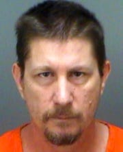 This Aug. 13, 2018 file photo provided by the Pinellas County, Fla., Sheriff's Office shows Michael Drejka.