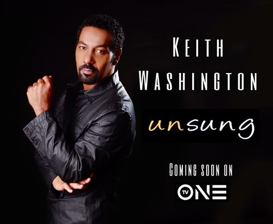 Singer Keith Washington will be featured on Unsung