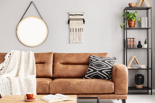 You can find leather sofas, chairs and more that perfectly complement your palette of choice. The Baer's team can even help you design a custom order.