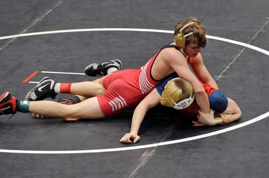Hillcrest sends seven wrestlers to the Class AAAAA state wrestling tournament