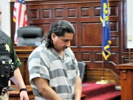 Roberto Salaman_Garcia leaves the courtroom after being sentenced to 17 years in prison for groping several patrons at the 2018 Montana State Fair.