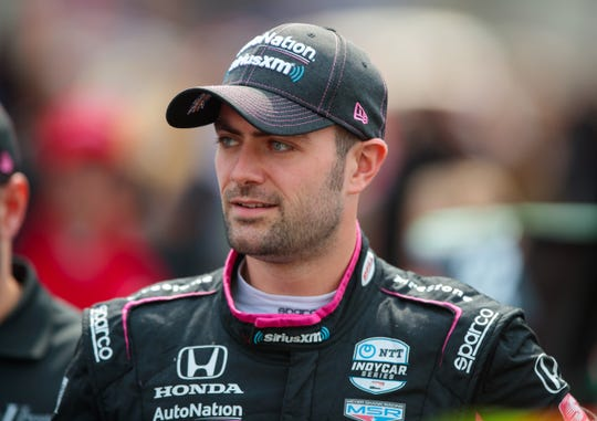 Jack Harvey is preparing for his first full IndyCar season.