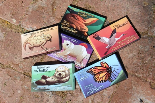 The Center for Biological Diversity will give away more than 40,000 free Endangered Species Condoms on Valentine's Day in the top 10 most sexually satisfied cities in the U.S., including Indianapolis, to help couples consider population growth's threat to wildlife and the planet. The packages contain original artwork of endangered species and rhyming slogans.