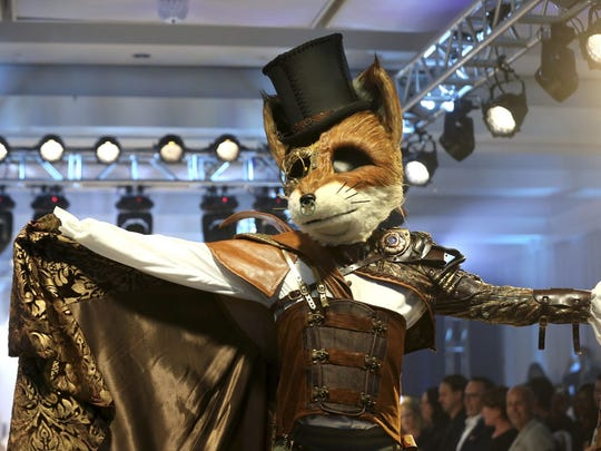 """The """"Fox"""" character may be part of the show when """"The Masked Singer"""" tour makes a June 7 stop in Indianapolis."""