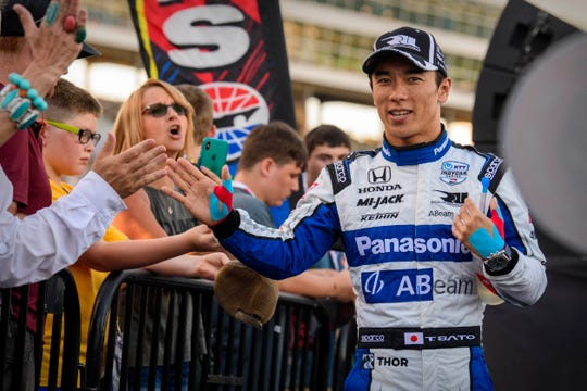 Takuma Sato won two races during the 2019 IndyCar season.