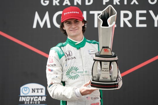 Colton Herta won two IndyCar races as a rookie in 2019.