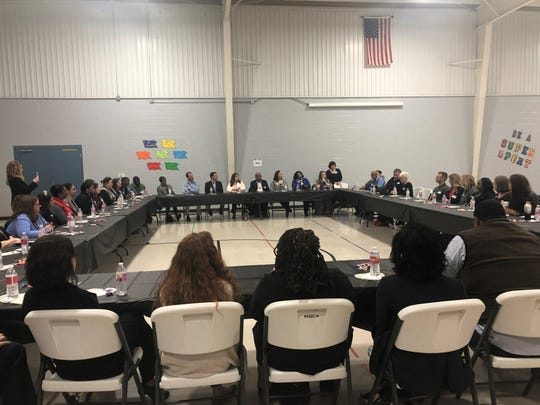 During a round table discussion Monday, Haywood County school leaders, teachers, and parents talked about the impact of a new, rigorous yet consistent curriculum among Tennessee Department of Education representatives and elected officials.