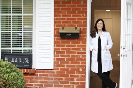 Lindsey Horner, owner of Pharmhouse Skin & Wellness, completely renovated a former dental office into Pharmhouse Skin & Wellness. Feb. 12, 2020.
