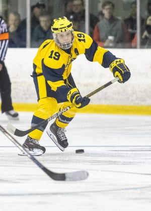 Hartland's Sam Kastamo had a goal and two assists in a 5-2 victory over Orchard Lake St. Mary's.
