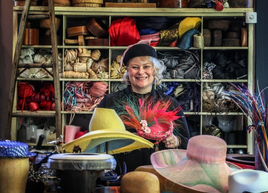 Jenny Pfanensteil is one of the featured milliners for Kentucky Derby 146. January 22, 2020