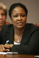 April 14, 2009 - Tomeka Hart at The Commercial Appeal's editorial board.