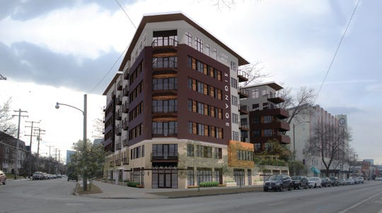 A seven-story apartment building proposed for the corner of North Summit and East North avenues will need big changes to win support.