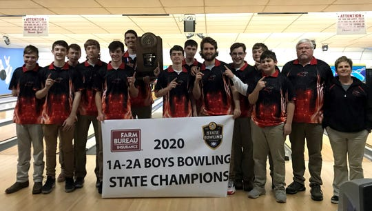 The Norfork Panthers won the Classes 2A/1A State bowling championship on Wednesday at Conway.