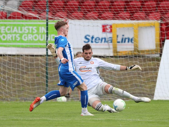 Bobby Edwards, a Parsippany native and Monmouth alumnus, made 22 appearances for Portadown FC in Northern Ireland.