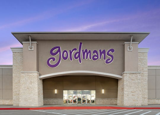 Rendering of what a new Gordmans store front looks like.