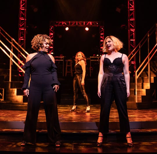 """Unmasked"" at Paper Mill Playhouse; Rema Webb, Mamie Parris, and Amy Justman"