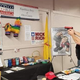 A photo posted to Facebook shows visitors at an Alamogordo gun show in February 2020 using a donkey for target practice. The photo was shared by Otero County Republican Chairman Amy Barela.