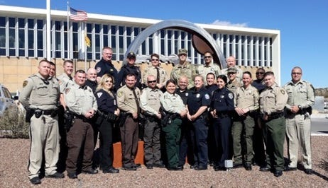 Las Cruces police will graduate 25 officers from a two-week Drug Abuse Resistance Education training course on Friday morning.