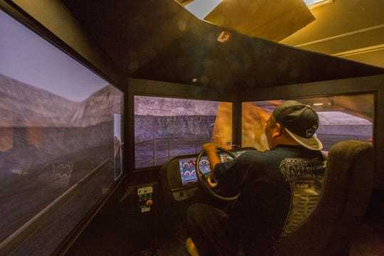 Learn to drive a haul truck in a virtual reality simulator at Freeport McMoran's activity center at the Silver City Museum Annex on Saturday, Feb. 15, 2020, from 10 a.m. to 2 p.m. Other activities include a 3-D drone flyover experience of the mine pit.