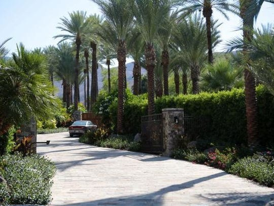 The entrance to Porcupine Creek on Wednesday, June 11, 2014 in Rancho Mirage, Calif.