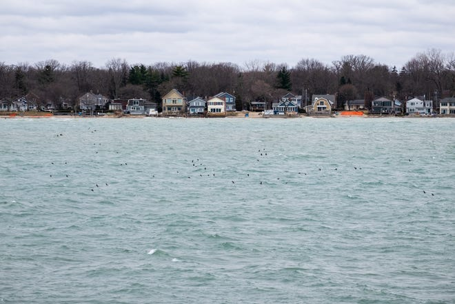 Water levels are expected to hold steady until they begin to rise this spring. Lakes Michigan-Huron and Lake St. Clair could start the spring higher than their old high water records in 1986, and keep rising from there.