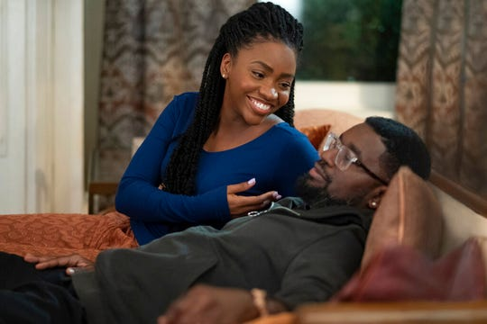 "Teyonah Parris and Lil Rel Howery star in ""The Photograph,"" playing at Regal West Manchester, Queensgate Movies 13 and R/C Hanover Movies."