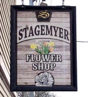 The Stagemyer Flower Shop is located in North York.