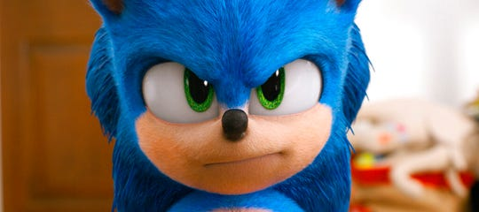 """Sonic the Hedgehog"" is playing at Regal West Manchester, Queensgate Movies 13 and R/C Hanover Movies."