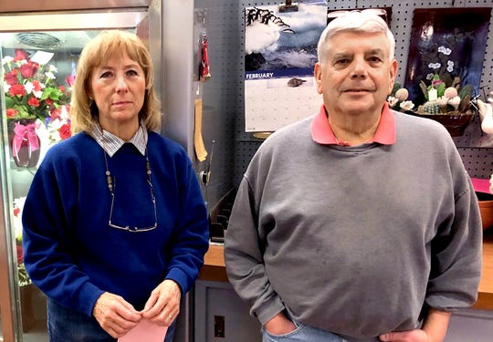 Karen and Dan Hinson have owned the Stagemyer Flower Shop in North York for 43 years.